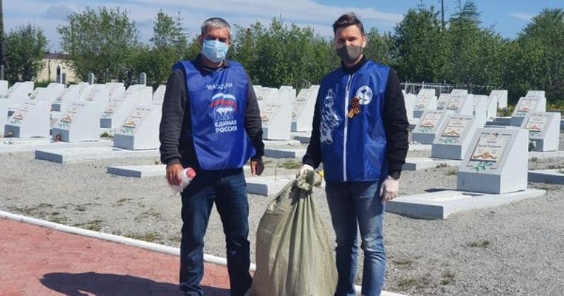 Сделать Магадан чище помогли депутаты областной Думы