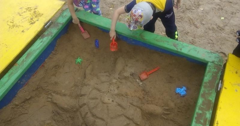 Новые песочницы установят в детском саду поселка Сокол