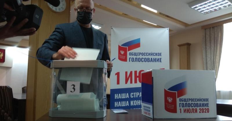 Андрей Колядин: Я - гражданин моей страны,  и обязан принимать участие в голосовании за основной закон Российской Федерации