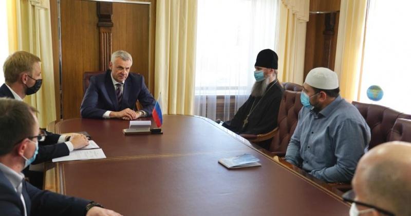Губернатор Сергей Носов встретился с представителями религиозных конфессий региона