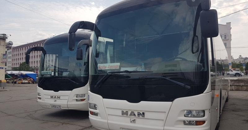 Три новых автобуса будут ходить по маршруту Магадан-Аэропорт