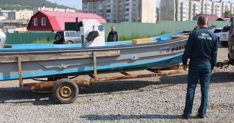 Как зарегистрировать маломерное судно рассказали сотрудники магаданской ГИМС