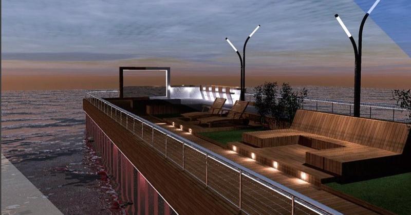 Жители Магадана смогут выбрать вариант, как будет выглядить пирс в бухте Нагаева