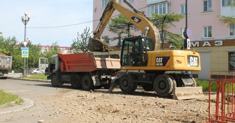 Сегодня в Магадане действует ограничение движения транспорта на Колымском шоссе, проспекте Карла Маркса, улицах Наровчатова и Кольцевой