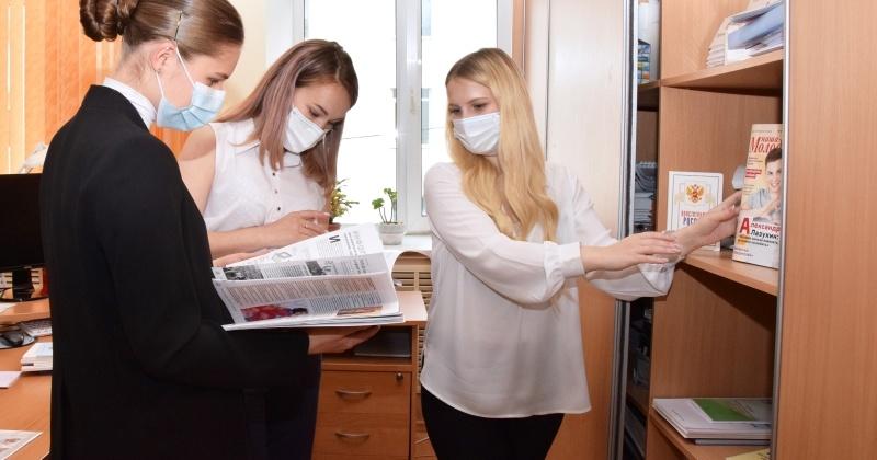 Участница конкурса «ТОП Молодые профессионалы Колымы – 2020» стажируется в Магаданской областной Думе