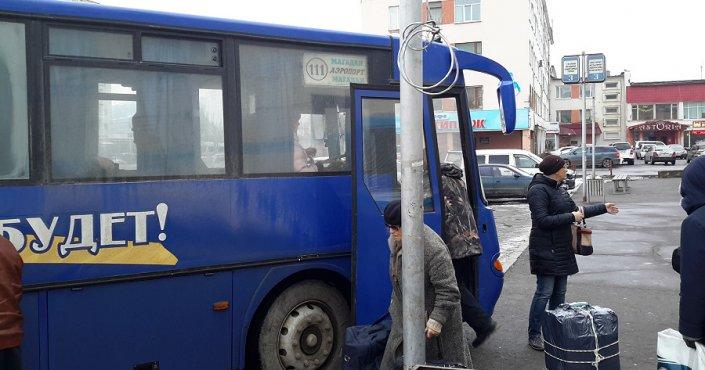 Расписание движения по маршрутам № 101  Магадан – Уптар – Аэропорт и № 111  Магадан – Аэропорт