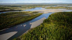 Река Колыма - крупнейшая река Магаданской области