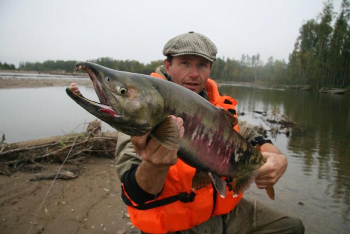 рыбалка на реке яне