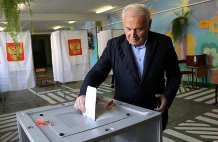 В Магаданской области начались выборы.