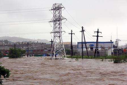 В Магадане и Хасынском районе области объявлен режим чрезвычайной ситуации в связи с ливневыми дождями