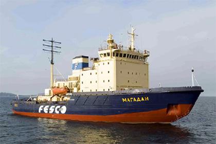 Ограничения по режиму ледового плавания в порту Магадан - не ниже Ice3