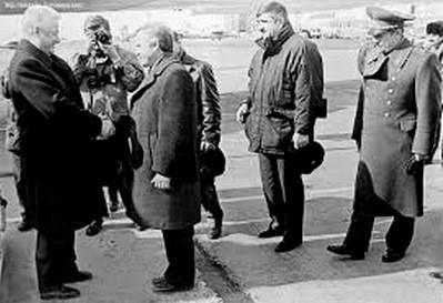 22 года назад, следуя в Ванкувер (Канада) на саммит Россия–США, в Магадане побывал первый Президент России Б.Н. Ельцин