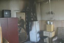 В Сусумане огнеборцы ликвидировали «кухонный» пожар