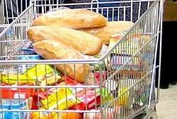 В июне в Магадане отмечается незначительное повышение на такие продукты, как рис, гречка, вода питьевая, макароны