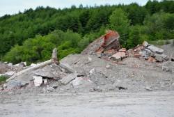 """В районе зоны отдыха """"Горняк"""" начались работы по благоустройству левого берега реки Дукча"""