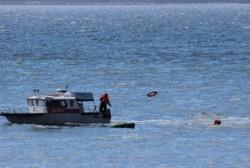 В бухте Нагаева состоялись показательные выступления магаданских спасателей