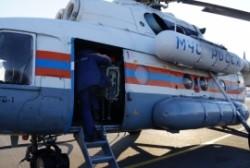 В район проведения поисково-спасательной операции в Северо-Эвенском районе вылетел вертолет МЧС