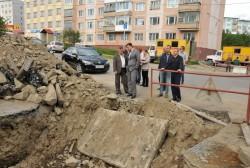 Мэр Магадана Сергей Абрамов оценил ход работ по реконструкции сетей тепло- и водоснабжения