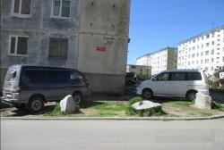 За парковку автомобилей в не установленном для этих целей месте двое магаданцев оштрафованы на 2 500 рублей каждый