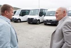 В Магадане на внутригородские маршруты выйдут новые микроавтобусы