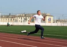 Работники прокуратуры Магаданской области провели соревнования по легкой атлетике и сдали нормативы ГТО