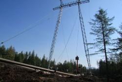 В Магаданской области установлена тысячная опора строящейся линии электропередачи 220 кВ «Оротукан – Палатка – Центральная»