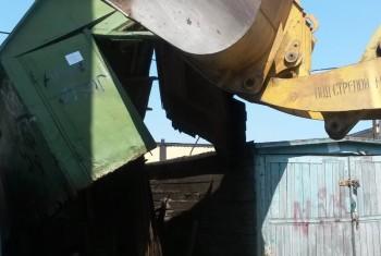 В Магадане продолжается выявление и эвакуация самовольно возведённых строений