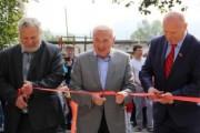 Губернатор : С новыми объектами благоустройства поселок Стекольный стал еще краше