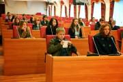 В региональном парламенте Колымы прошла традиционная встреча со студентами СВГУ