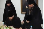 Отделы образования и катехизации Магаданской и Якутской епархий заключили соглашение о сотрудничестве