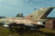 В Магадане идет сбор средств на восстановление смытого паводком самолета  МиГ-21