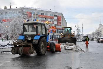 Главная задача коммунальных служб – поддержание чистоты  и безопасности в городе