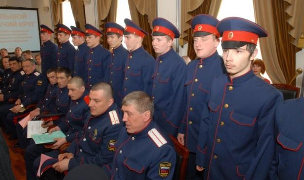 Казаки Колымы сегодня отмечают день Российского казачества
