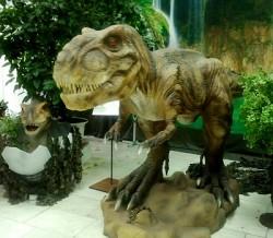 """Выставка движущихся фигур """"Реальные динозавры"""""""