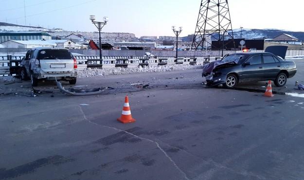 В Магадане по вине пьяного водителя пострадали 3 человека