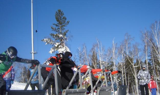 Магаданские сноубордисты были лучшими на трассе  второго этапа Кубка России по сноуборду