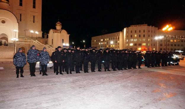 Магаданские дружинники приступили к охране общественного порядка