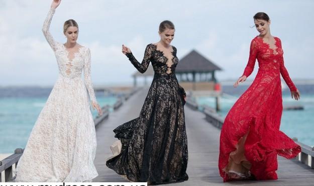 Роскошные платья для торжественного выхода