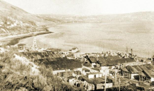 83 года назад начаты работы по устройству первой портовой площадки в бухте Нагаева