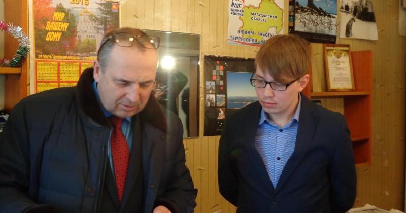 Мэр Магадана Юрий Гришан: Журналисты должны работать в комфортных условиях!