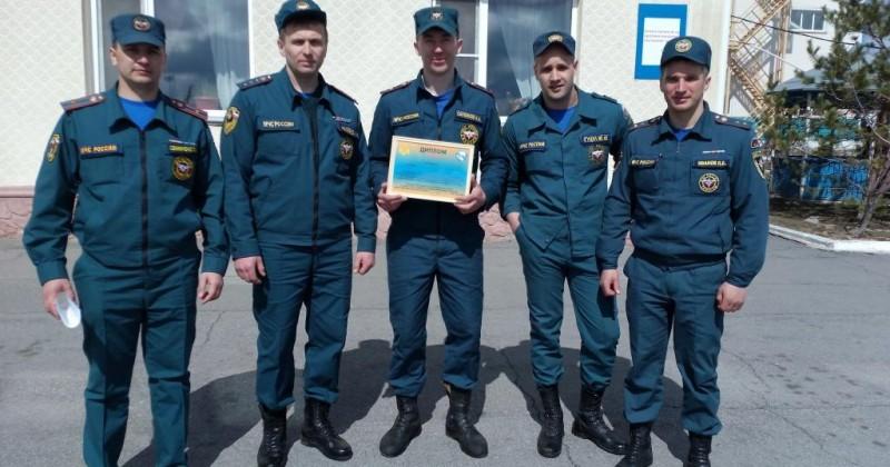 Магаданские пожарные заняли второе место на дальневосточных соревнованиях по ликвидации последствий ДТП