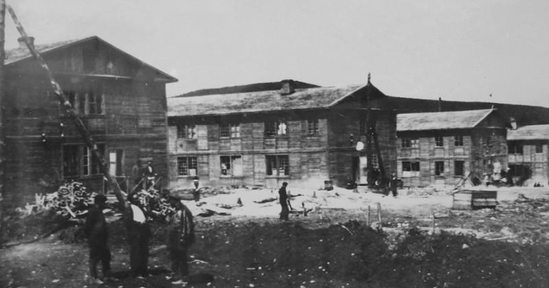 77 лет назад в Магадане началось строительство домов скоростным методом