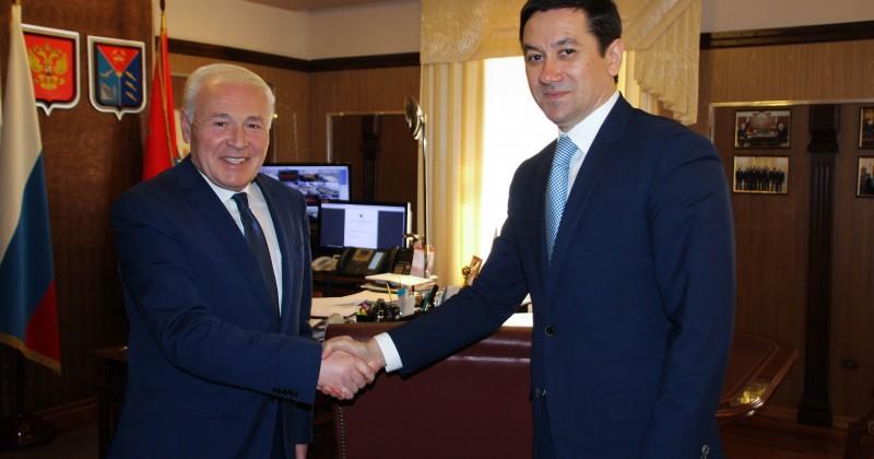Председатель Дальневосточного Сбербанка встретился с губернатором Магаданской области