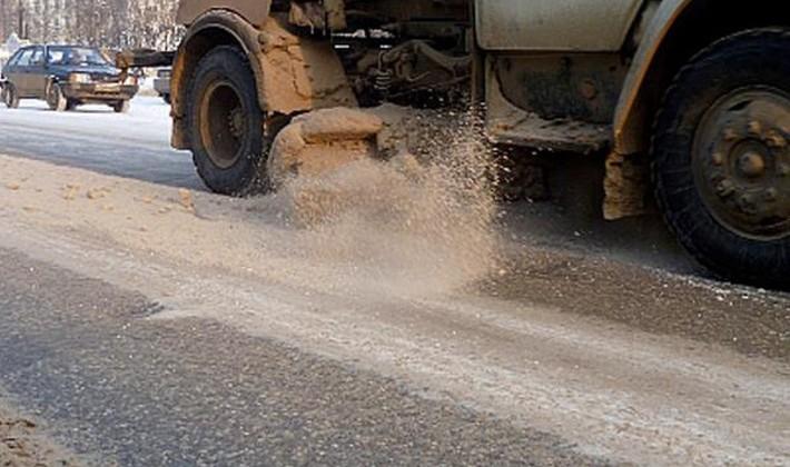 Следующей зимой Магадан вернется к использованию реагентов на дорогах