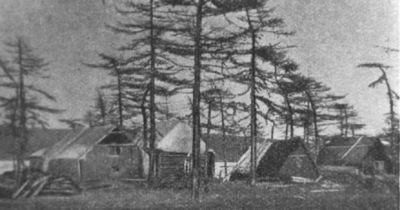 83 года назад (1933) в г. Магадане организовано прорабство «Глинобитный городок»