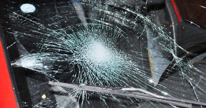 Колымчанин расстрелял автомобиль из пневматики