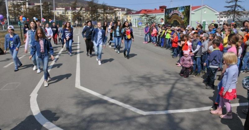 В Городском парке состоялось открытие автогородка