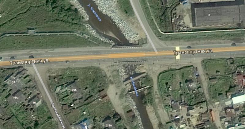 Мост через реку Магаданку по улице Транспортной закроют на восемь дней
