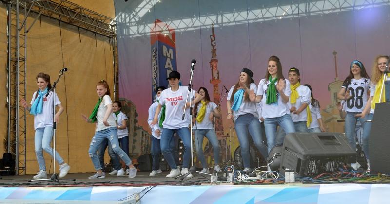 Магаданская площадь стала территорией молодых