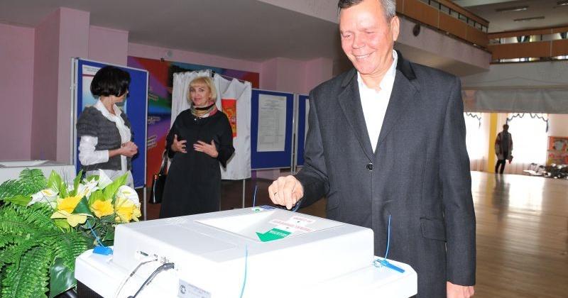 Сергей Абрамов отдал свой голос на выборах депутатов Государственной Думы